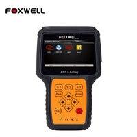 Foxwell NT630 AutoMaster Pro ABS Airbag Narzędzia Reset Skaner Czytnik Kodów kreskowych Skanery Automotive Diagnostic Scan Narzędzia Samochodowe