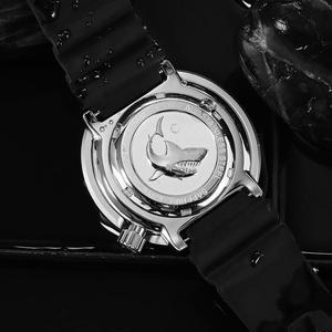 Image 5 - טונה SBDC035 אופנה שעון פוטודינמי אנרגיה קוורץ גברים שעון StainlessSteel צלילה שעון 300mWater עמיד שמש שעוני יד