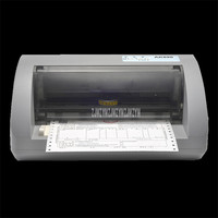 AK890 Needle Type Dot Matrix Printer Express Tax Delivery Bill Electric Automatic Office Invoice Printer 1+5P Copy Ability