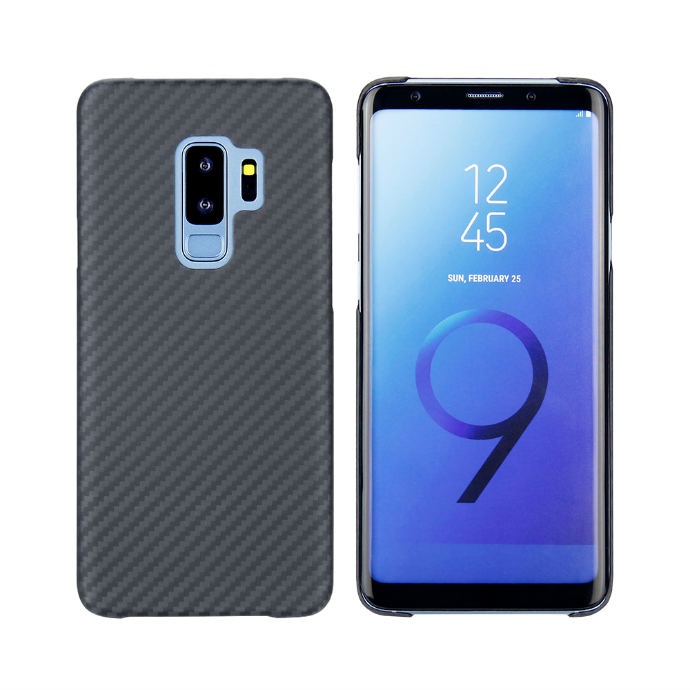 Mcase 2018 Newest Business Matte Aramid Fiber Case for Samsung S9 S9 Plus Cover Ultra Thin