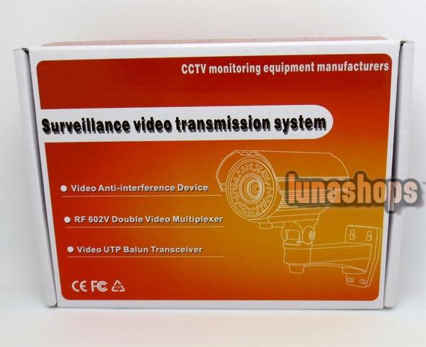 CCTV Security camera Long Distance Range BNC Video Amplifier anti-interference v1:600m V2:400m