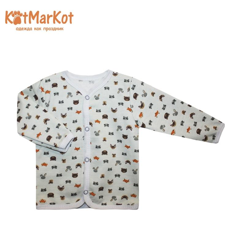 Blouse Raccoon, Newborn, Kotmarkot, 7686 navy blouse with self tie
