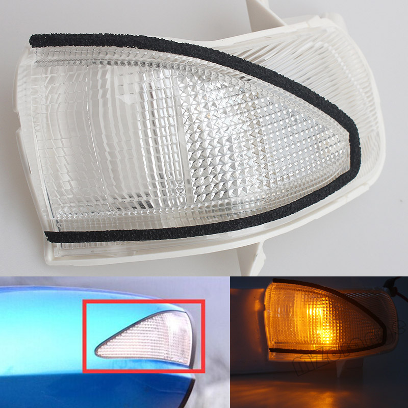 Rearview Side Mirror Lamp Turn Signal Led Light Clearance Light For HONDA FIT JAZZ 2008 2009 2010 2011 2012 2013 eemrke for toyota voxy 2007 2008 2009 2010 2011 2012 2013 side rear view mirror lights led drl turn signals