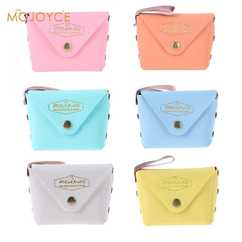 Candy Colored Girls Coin Bags Women Key Wallets Cute PU EVA Mini Square Storage Hard Bag Case Holder For SD TF Card Earphone