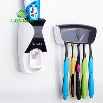 Креативный домашний автоматический соковыжималка для зубной пасты с пыленепроницаемым держателем зубной щетки и Корейская зубная паста д...