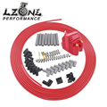 LZONE-10 м/компл. свечи зажигания провода спиральный сердечник 8 5 мм + 12В e-ядро Катушка зажигания для Chrysler Hemi Pro запас для Ford Dodge набор