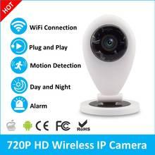 720 P Wi-Fi Камера R1 OV9720 Датчик P2P Облако Беспроводная Ip-камера Двухстороннее Аудио Радионяни Карта Micro Sd Слот Wlan Kamera