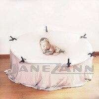 Джейн Z Ann Новорожденный ребенок Фотография реквизит позирует рамка Кресло мешок аксессуары для студии младенческой позер Подушка для ново