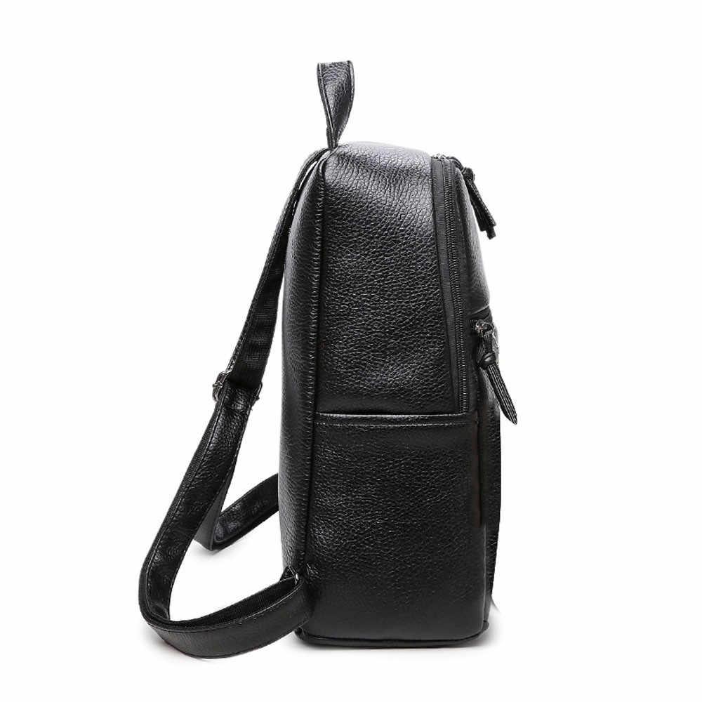 Sac à dos en simili cuir polyuréthane en cuir confortable alpinisme grand sac voyage sport pochette d'entraînement Design sac d'école étudiants J12
