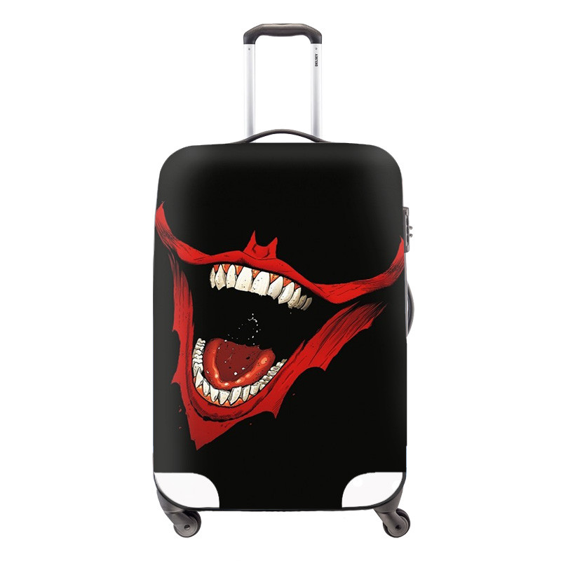 2 Cool Camouflage Skull Print Stretch Travel Accessories Luggage Protective Dust Covers For 18-30 inch Cases Travel Luggage Cover
