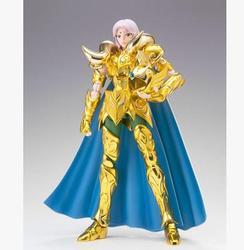 In-Stock S-Temple / MetalClub Aries Mu Kiki Ex Myth Cloth Metal Gold Action Figure Model Kit Cavaleiros do Zodiaco saint seiya