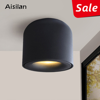 Aisilan Teto Downlight LEVOU Holofotes Vivendo Lâmpada Nordic Iluminação Para Cozinha Banheiro luz Do Ponto montado Superfície AC90-260v