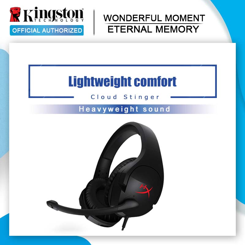 Kingston HyperX Cloud Stinger Auriculares Headphone Steelseries Gaming Headset with Microphone Mic For PC PS4 Xbox