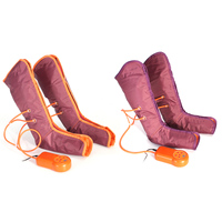 Electric Air Compression Leg Massager Leg Wraps Foot Ankles Calf Pressure Physiotherapy Massager Promote Blood Muscle Relaxation