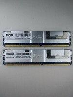 Memory 16GB ( 2x 8GB ) DDR2 ECC FBD Fully Buffered RAM 4GB 667MHz FB DIMM 8GB 2Rx4 PC2 5300F for Dell PowerEdge 1950 M600 M1000e