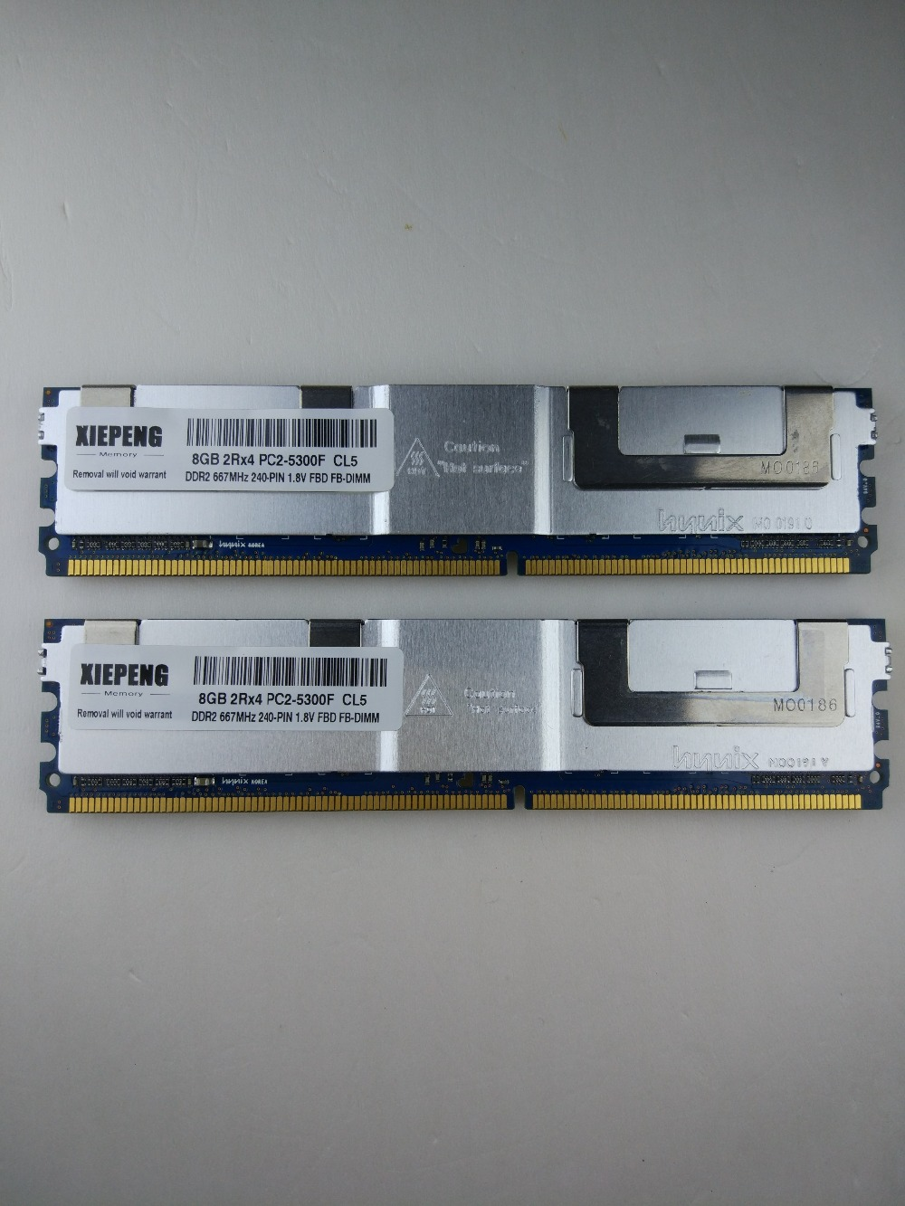 Memory 16GB ( 2x 8GB ) <font><b>DDR2</b></font> ECC FBD Fully Buffered RAM <font><b>4GB</b></font> <font><b>667MHz</b></font> FB-DIMM 8GB 2Rx4 PC2-5300F for Dell PowerEdge 1950 M600 M1000e image