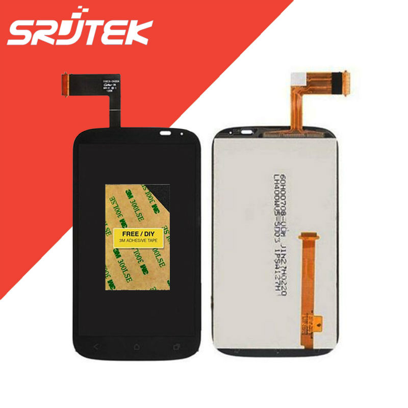 4.0 For HTC Desire X T328e LCD Display Panel with Touch Screen Digitizer Sensor Glass Full Assembly 100% NEW Original Parts