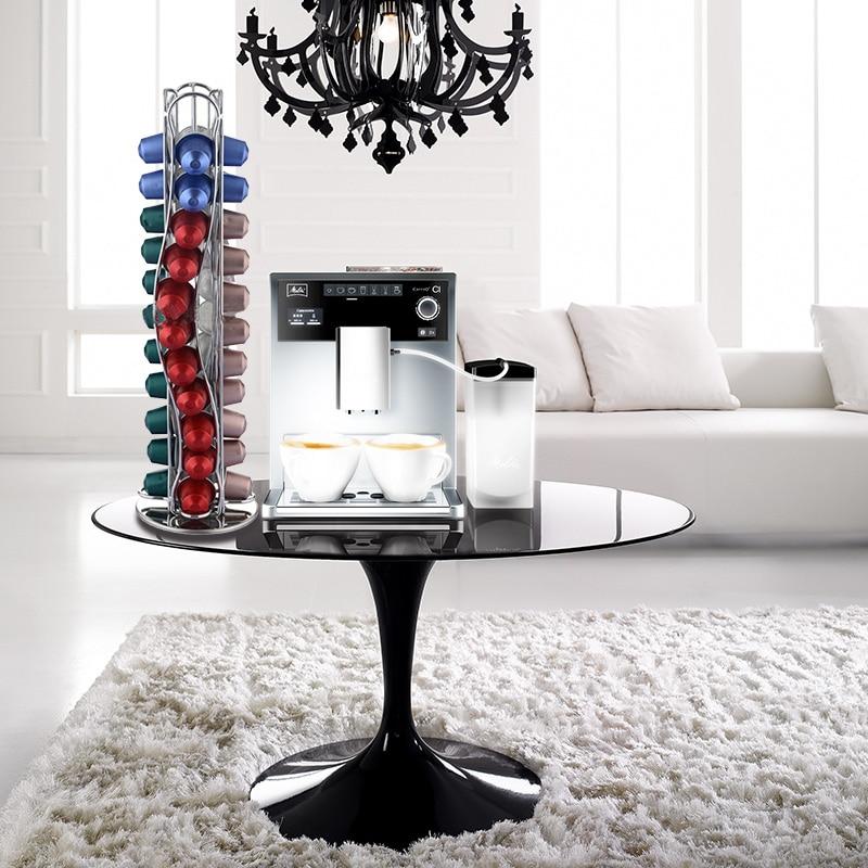 YONTREE 1 ST Nespresso Capsules Houder 40 Cups Iron Keuken Organizer - Home opslag en organisatie