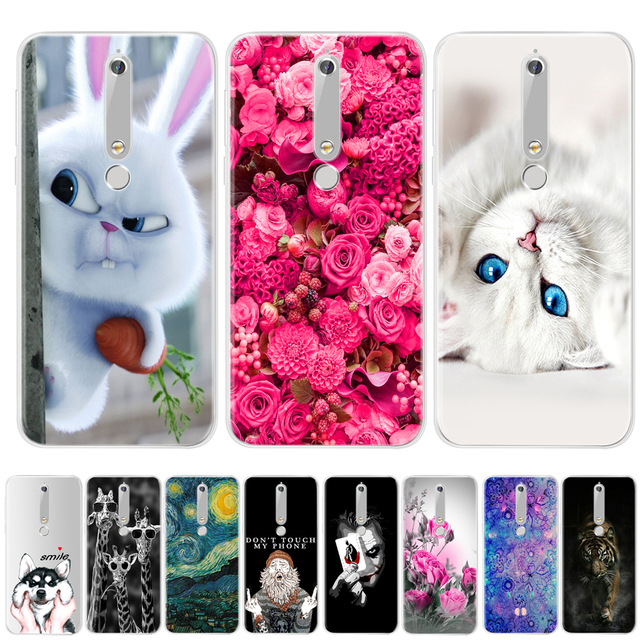 size 40 462c0 024b0 US $0.8 24% OFF|For Nokia 6 2018 Case Nokia 6.1 Cover Silicone Case  Transparent TPU Cute Back Covers For Nokia 6 2018 Phone Case For Nokia  6.1-in ...