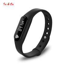 Bluetooth 4.0 Pulsometer Passometer Fitness Tracker Smartband OLED display Wristband Heart Rate Monitor Bracelet