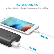 Anker USB Cable 3ft 6ft lightning for USB cable with Ultra-Compact Connector Head for iPhone 7 7 Plus 6 6Plus 5s 5c 5 iPad ipod