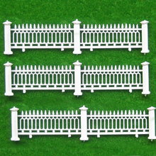 1M long Model fence / hedge villa garden railing construction sand table model material