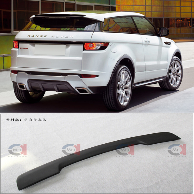 Land Rover 2012 Price: Rear Accessory Lip Spoiler For Range Rover Evoque Rear