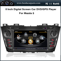 Car Radio For Mazda 5 With Stereo GPS 1G CPU 3 Zone POP Bluetooth RDS USB