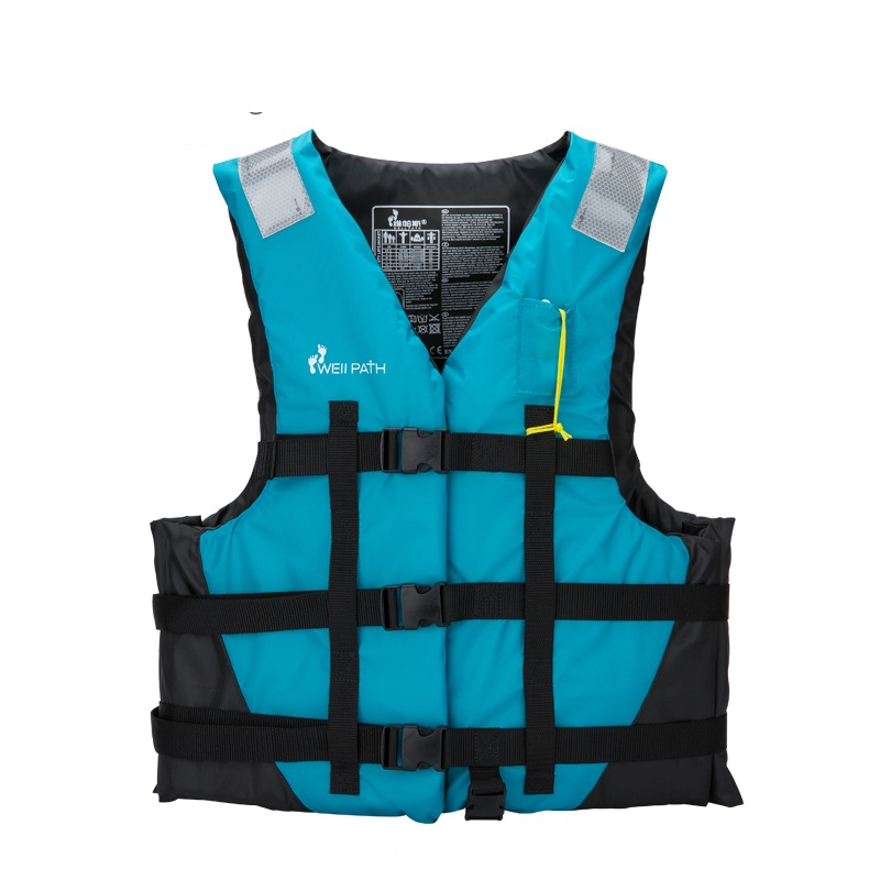 Adult Life Jacket Professional Life Vest For Drifting Boating Survival Fishing Safety Jacket Water Sport Wear with Reflector