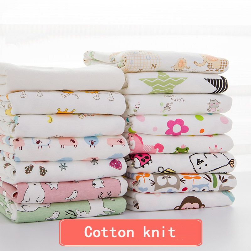 2 Pcs/pack 100 X 76cm Newborn Baby Bed Sheets 100% Cotton Super Soft Crib Sheet Baby Bedding Set Infant Cot Sheets Boys Girls