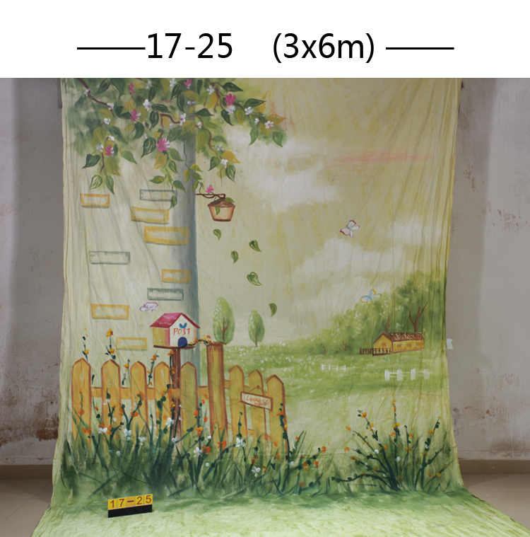 10x20ft Hand painted Studio Shooting Muslin Photography Background 1725,scenic flower floor backdrops,camera wedding photography 10x20ft hand painted studio shooting muslin photography background 067 vintage fabric backdrops camera wedding photography