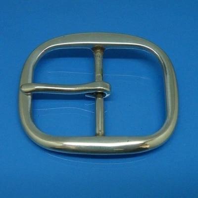 DIY Johnleather Craft Hardware SRTP Solid Brass Belt Buckle Center Bar Buckle # 9096-B38