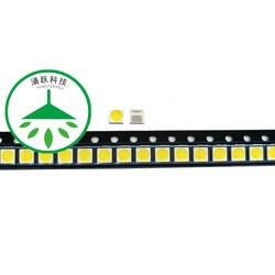 Yongyuekeji 100 шт./лот новый led ТВ ПОДСВЕТКА высокое мощность 3030 3 в 350ma 1 Вт лампа холодного света led бусины