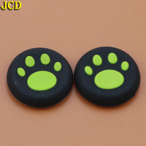 Image 4 - JCD 2pcs Silicone Analog Joystick Grips Cap for Sony PlayStation 4 for PS4 Controller Cat Claw Joystick Cover