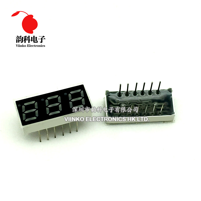 Electronic Components & Supplies Latest Collection Of 50pcs X 0.28 Inches Red Jade Green Blue 3 Digital Tube Jade Green Led Display Module 2381agg 2381bgg 2381ab 2381bb 2381as 2381bs
