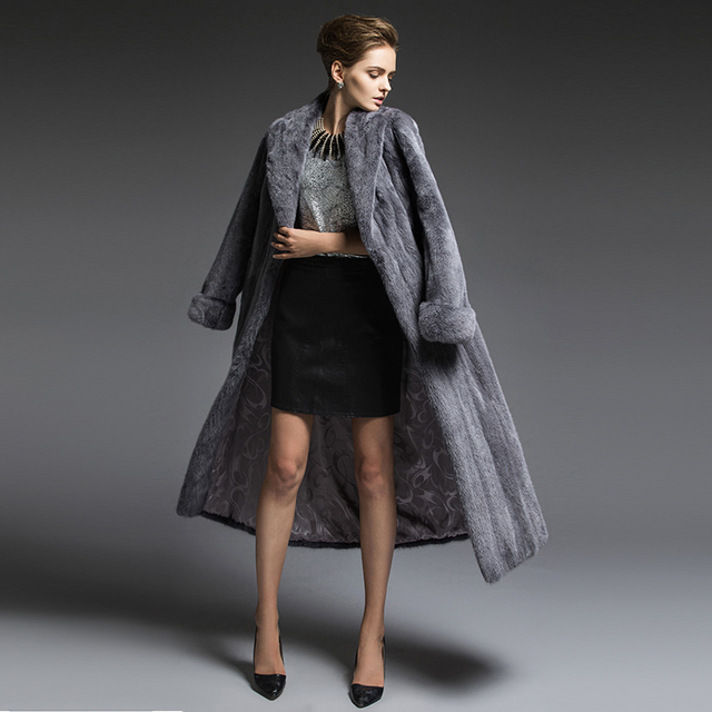Aliexpress.com : Buy De Polaris mink fur luxury mink coats Heavy