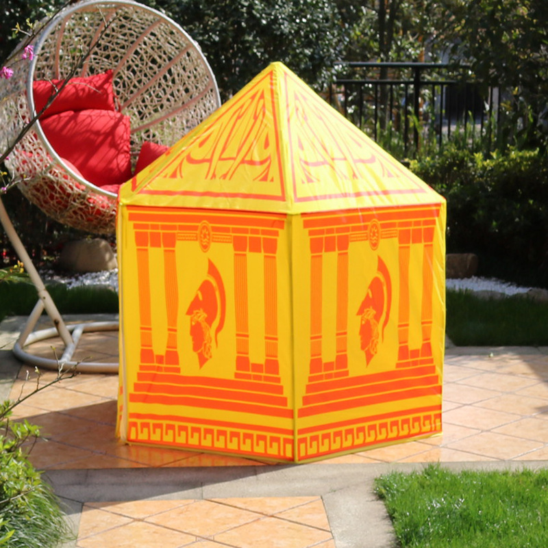 VILEAD Outdoor Mosquito Net Indoor Outdoor Drama Tent Child Toy Boy Castle Small Room Child'S Best Gift south korea six large angle princess castle tulle children toy house large game room selling mosquito tent puzzle tent toy