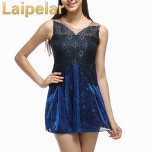 2018 Women Sexy Lace Hollow Dress Summer Style Perspective O-neck Casual Vestidos fashion Laipelar Club Party