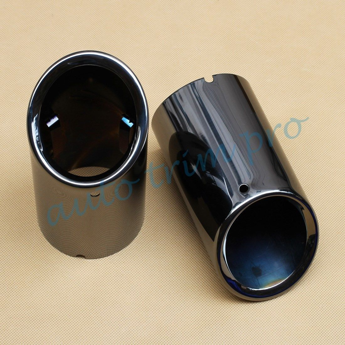 Fit For Audi A4 B8 1.82.0T 2009-2017 Rear Exhaust Tail Muffler Tip Pipe Accessories Decorate