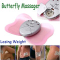 Free Shipping Drop Shipping 2014 Christmas gift Electronica Butterfly Body Muscle Massager Body Slimming Massager