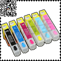 6Pcs T2771 T2772 T2773 T2774 T2778 T2776 Refillable Ink Cartridge With Auto Reset Chips For Epson