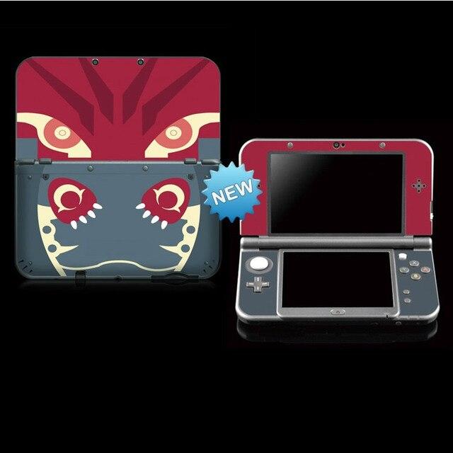 Nuevo adhesivo protector para la piel de Pokemon Genius, pegatinas para Nintendo NEW 3DS LL/ NEW 3DS XL