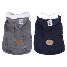 2018 New The Latest Goods Dog Clothes Puppy Winter Is Very Warm Hoodie Cat Wool Coat  Sweater