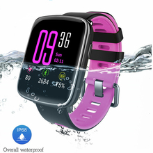 GV68 Smartwatch IP68 waterproof Smart Watch Bluetooth Answer Call Pedometer Heart Rate Fitness Tracker for Android iOS
