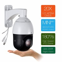 4.5inch CCTV Security Speed Dome PTZ IP Camera 1080P 2MP 36X Zoom Pan Tilt Outdoor IP66 Waterproof P2P Remote Access Motion det