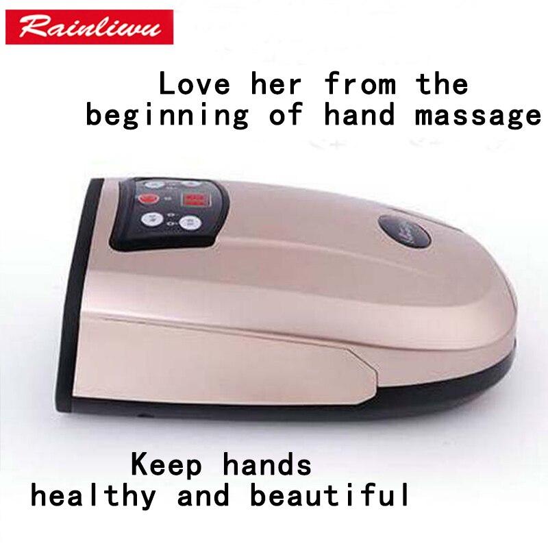 Ручной массажер китайский бренд Массажер для рук ладонь Отбеливание Укрепляющий массаж аппарат для женщин Красота средства ухода за мотоц...