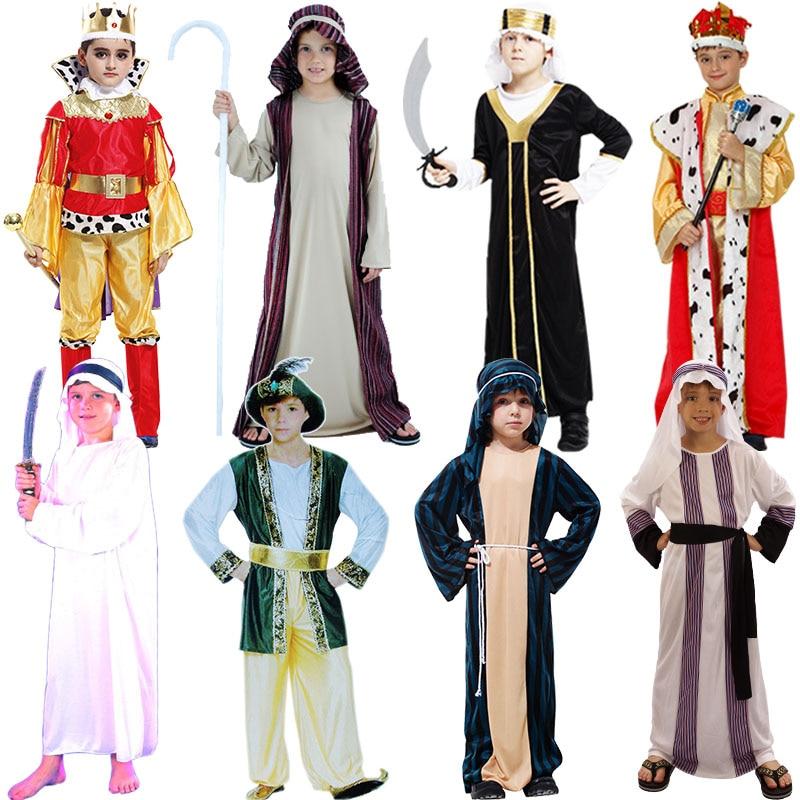 Costumes King Christmas Kids