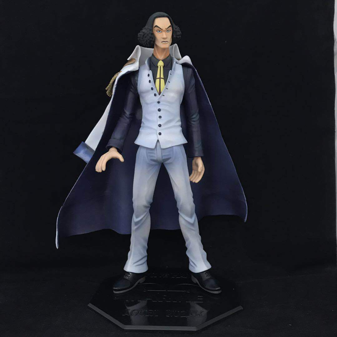 27CM pvc Japanese anime figure ONE PIECE Kuzan cloak navy General action figure collectible model toys for boy/girl one piece figure japanese one piece nico robin pvc 17cm action figures kids toys japanese anime figurine doll free shipping