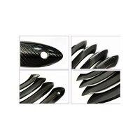 Carbon fiber Side Door Handle Mask Cover Trim For BMW GT Gran Turismo 4 Door 2010 2015