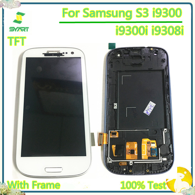 Digitizer Lcd-Display Touch-Screen S3 I9300 Samsung Galaxy Assembly Frame With For I9300i/i9308i